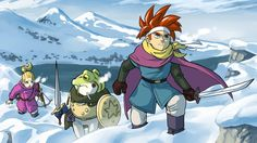 Chrono Trigger Winter by Padder