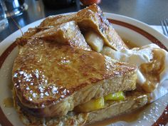 Monkey French Toast at Sam's Morning Glory in Philly... so good!