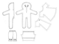 Collection of doll patterns free for personal and non-commercial use only