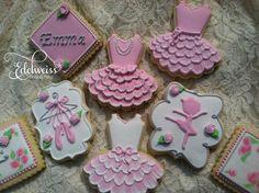 Ballerina Cookies   Cookie Connection ♥ Wonderful! www.thewonderfulworldofdance.com #ballet #dance