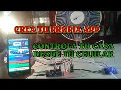 Controla tu Casa desde tu Celular - Diseño y Creacion de APP - Parte2 - YouTube