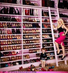 christina aguilera's closet