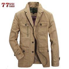 Bomber Jacket Men, Military Jacket, Suit Jacket, Wind Jacket, Military Style, Casual Blazer, Men Casual, Men Blazer, Mens Outdoor Jackets