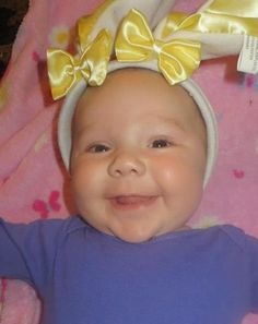 Sweet little Maggie!! Easter 2014