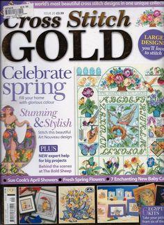 British Magazine:   Cross Stitch GOLD  ~   Issue 20    -    AS NEW