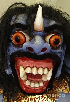Traditional Mask Bali Indonesia