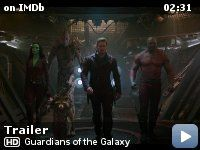 Guardians of the Galaxy -- Space adventurer Peter Quill finds himself the object of a bounty hunt after stealing an orb coveted by a treacherous villain, but when Quill discovers the power it holds, he must find a way to rally the quartet of ragtag rivals hot on his trail to save the universe.
