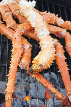 Belated Valentine Dinner for 2 - Grilled King Crab - Home - Sweetbites Blog