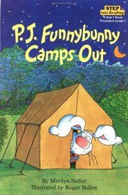 P.J. Funnybunny books by Marilyn Sadler and Roger Bollen