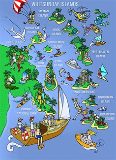Welcome to the Whitsundays! Pirate Adventure, Nature Adventure, The Whitsundays, Wilderness Resort, Hamilton Island, Island Map, Airlie Beach, Australia Map, City Maps