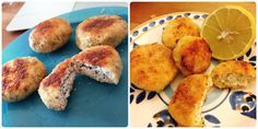 a la izquierda: usé quinoa tricolor. A la derecha quinoa blanca (la mas común)
