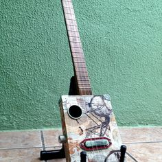 Novo projeto Mineiro's Blues Cigar Box Guitars
