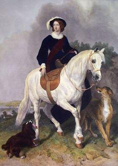 Queen Victoria on horseback