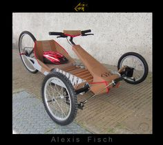 Electric vehicle & leather - Prototype by Alexis Fisch at Coroflot.com