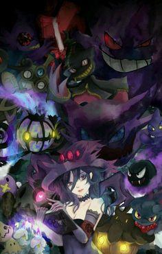 Ghost/Dark type pokemon