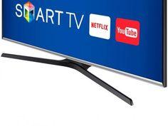 """Smart TV LED 55"""" Samsung Full HD J5300 - Conversor Digital Wi-Fi 2 HDMI 2 USB com as melhores condições você encontra no Magazine Uelitonfshopping. Confira!"""