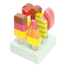 Wooden Lollies by Le Toy Van for all the baby-mamas I know out there!