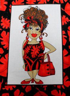 Applique Iron On Applique Loralie Harris by EmbellishByAndrea, $6.95