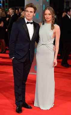 Sam Claflin and Laura Haddock.