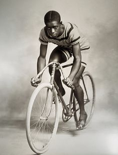 MAJOR TAYLOR. (The most famous American Cyclist you've never heard of). http://www.majortaylor.com/index.html