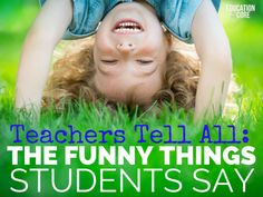 Teachers Tell All: T
