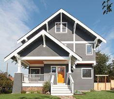 Sw7658 Gray Clouds By Sherwin Williams Is Similar Exterior Paint Schemes Craftsman