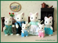 Sylvanian families cat family