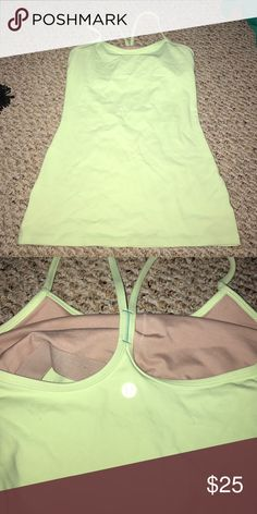 Lululemon power y tank Great condition! Never altered lululemon athletica Tops Tank Tops