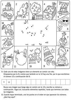 DOCENTECA - Divertidas Fichas De Razonamiento Lógico para primaria Cognitive Activities, Teachers Corner, Activities For Kids, Homeschool, Mandala, Teaching, This Or That Questions, How To Plan, Education