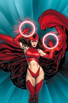 Scarlet Witch by Frank Cho