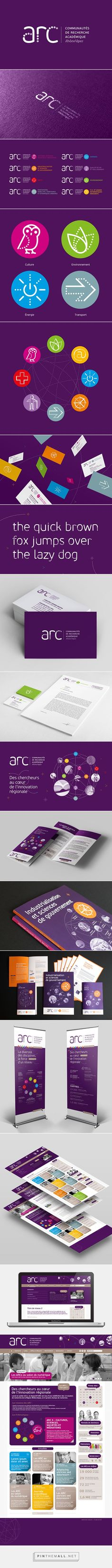ARC Brand Indentity on Behance... - a grouped images picture - Pin Them All