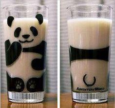 Panda Glas