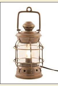 Electric Nautical Lamp I love lanterns