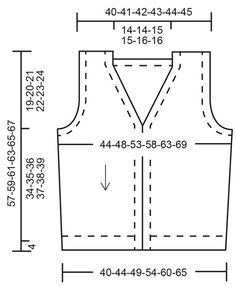 Mens Vest Pattern, Mens Knit Sweater Pattern, Sweater Knitting Patterns, Knit Vest, Free Knitting, Drops Design, Drops Karisma, Schematic Drawing, How To Measure Yourself