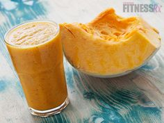 Pumpkin Pie Smoothie: High-fiber, Low-fat treat! Celebrate fall the healthy way!