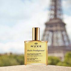 Sur ce visuel se sont glissés deux éléments prodigieux... Saurez-vous les trouver ? ;) #Paris #HuileProdigieuse #EiffelTower #NUXE