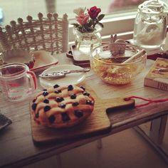 fresh baked blueberry pie 1:12 Kim Saulter