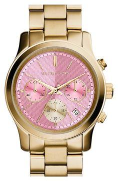 Michael Kors 'Runway' Chronograph Watch