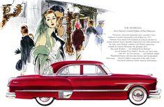 Plan59 :: Classic Car Art :: 1953 Packard Patrician