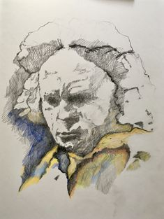 mr marian hergouth, Beethoven col. Mixed Media Painting, Horror Art, Landscape, Portrait, Artist, Canvas, Drawing S, Scenery