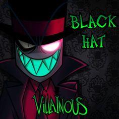 Cartoon Network, Hat Organization, Villainous Cartoon, Vivziepop Hazbin Hotel, Imagines, Neon Signs, Fan Art, Hats, Artwork
