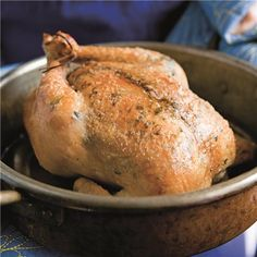 Herb-Roasted Chicken  - Williams Sonoma Recipe