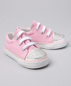 Take a look at this Pink Big Tiff Sneaker by One Ruby Lane on @zulily today!