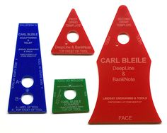 Carl Bleile - sharpening with templates & pictures - Engraving Forum.com - The Internet's Largest and Fastest Growing Engraving Community