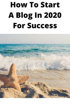 How To Start A Blog In 2020 For Success is something that can be achieved if you decide to follow these steps Marketing Ideas, How To Start A Blog, About Me Blog, Success, Social Media, Social Networks, Social Media Tips