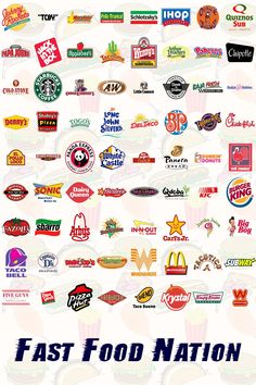 Fast food - World Cuisine Logo Restaurant, Fast Food Restaurant, Vegan Quesadilla, Fast Food Logos, Logo Food, Food Truck, Pollo Tropical, Fast Food Workers, American Fast Food