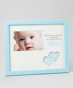 Look at this #zulilyfind! Blue 'Into My Heart' Frame by Havoc Gifts #zulilyfinds