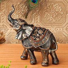 "Elephant 7 1/2"" Statue"