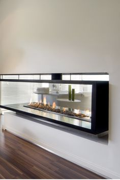 House Mosi | Double Sided Fireplace |  Nico van der Meulen Architects #Contemporary #Residence #InteriorDesign