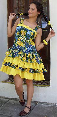 vestido de chitao - Pesquisa Google
